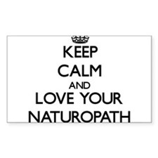 Keep Calm and Love your Naturopath Decal