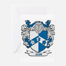 Allen Coat of Arms Greeting Cards