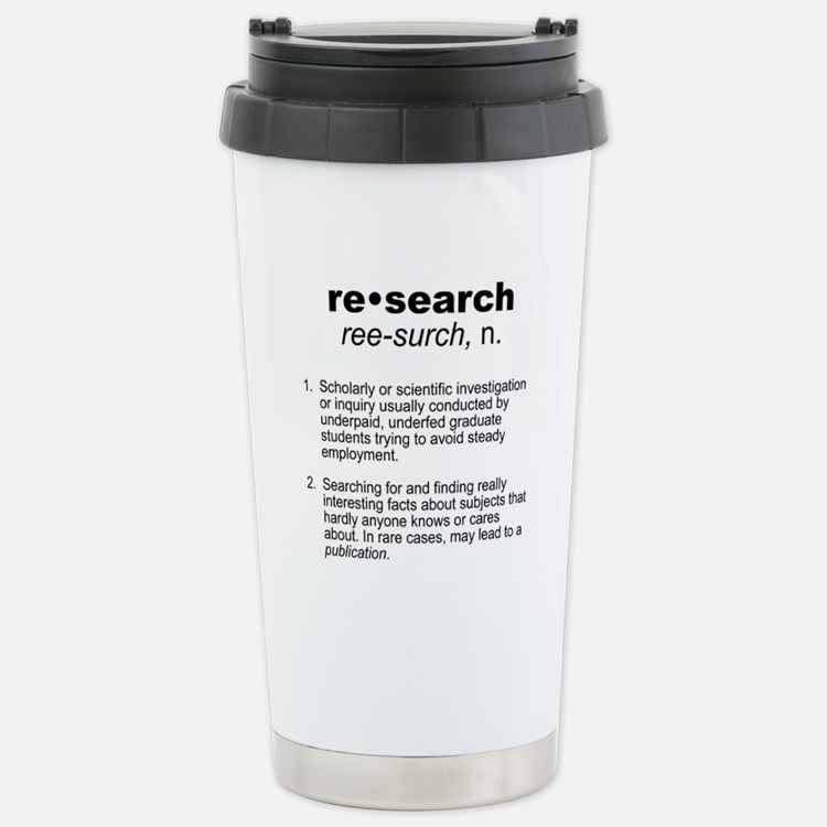Cute Higher education Travel Mug