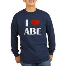I Heart Abe Long Sleeve T-Shirt