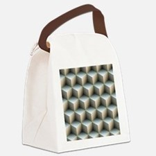 Ambient Cubes Canvas Lunch Bag