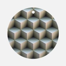 Ambient Cubes Ornament (Round)