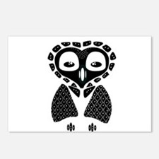 Mexico Owl Postcards (Package of 8)
