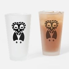 Mexico Owl Drinking Glass