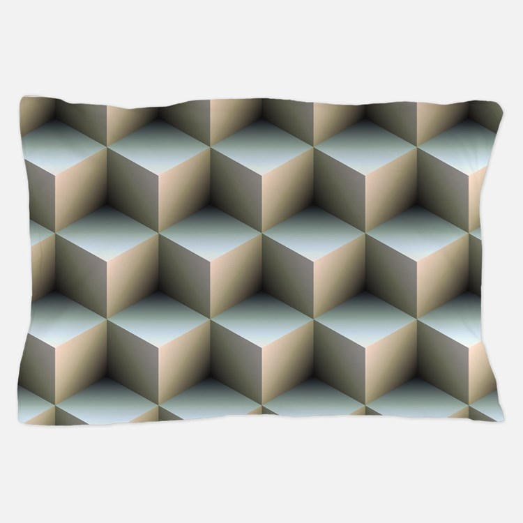 Ambient Cubes Pillow Case