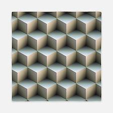 Ambient Cubes Queen Duvet
