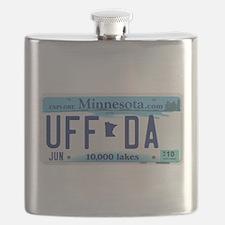 """Minnesota """"Uffda"""" Flask"""