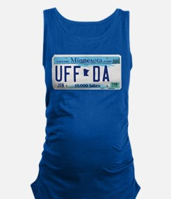 "Minnesota ""Uffda"" Maternity Tank Top"