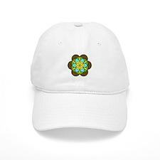 Flower of Life Earth2 Baseball Cap