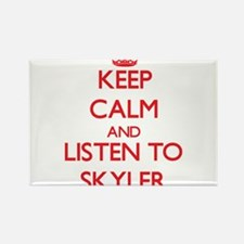 Keep Calm and Listen to Skyler Magnets