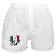 Soccer fans Mexico Boxer Shorts