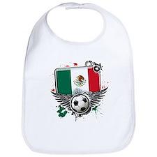 Soccer fans Mexico Bib
