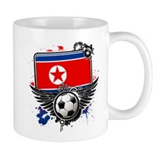 Soccer fans Korea Mugs