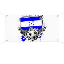Soccer fans Honduras Banner