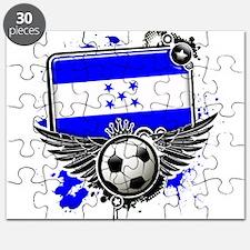 Soccer fans Honduras Puzzle