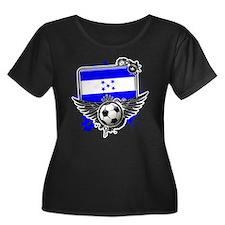 Soccer fans Honduras Plus Size T-Shirt