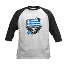 Soccer fans Greece Baseball Jersey