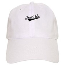 Grand Isle, Retro, Baseball Baseball Cap