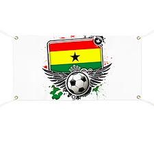 Soccer fans Ghana Banner