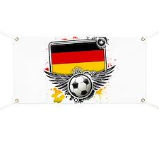 Soccer fans Germany Banner