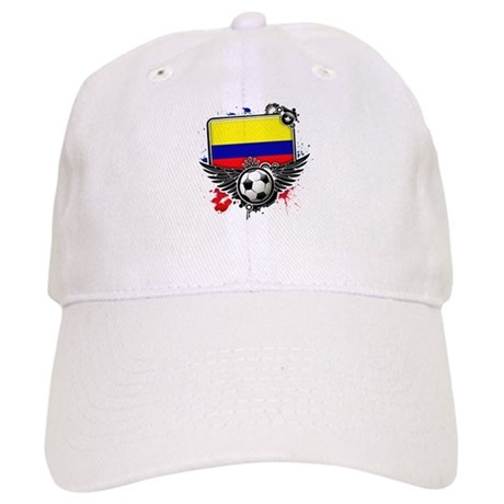 Soccer fans Colombia Baseball Cap
