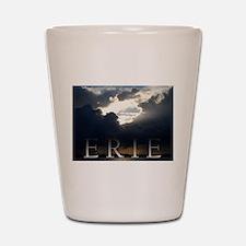 Erie Rain Clouds Shot Glass