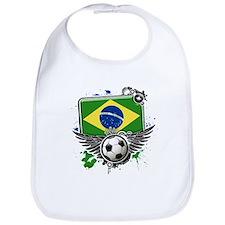 Soccer fans Brazil Bib