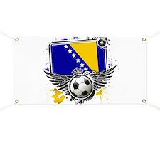 Soccer fans Bosnia Banner