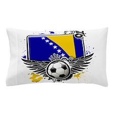 Soccer fans Bosnia Pillow Case