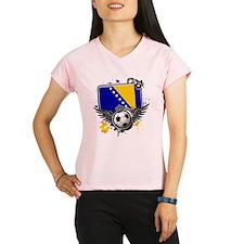 Soccer fans Bosnia Performance Dry T-Shirt