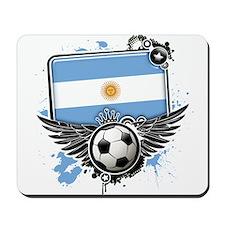 Soccer fans Argentina Mousepad