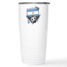 Soccer fans Argentina Travel Mug