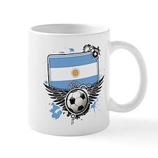 Soccer fans Argentina Mugs