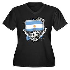 Soccer fans Argentina Plus Size T-Shirt