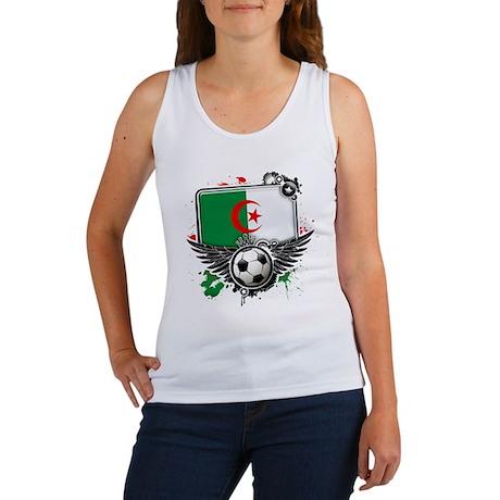 Soccer fans Algeria Tank Top