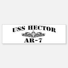 USS HECTOR Sticker (Bumper)