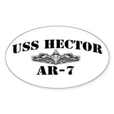 USS HECTOR Decal