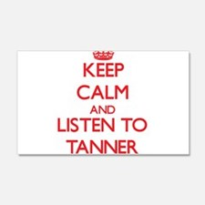 Keep Calm and Listen to Tanner Wall Decal