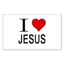 I Love Jesus Decal
