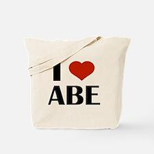 I Heart Abe Tote Bag