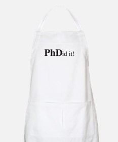 PhDid It! PhD Apron