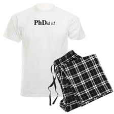 PhDid It! PhD pajamas