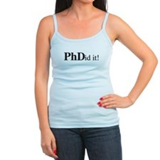 PhDid It! PhD Ladies Top