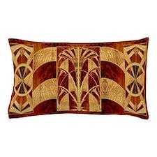 Harvest Moons Art Deco Panel Pillow Case