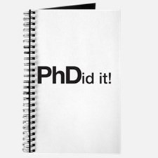 Phdid It! Phd Did It! Journal