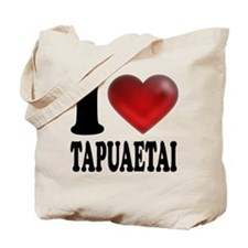 I Heart Tapuaetai Tote Bag