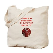 BACKGAMMON4 Tote Bag