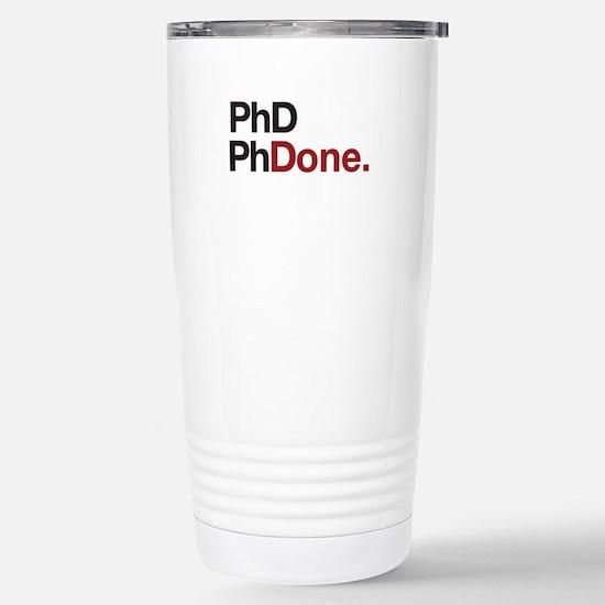 phD PhDone Travel Mug