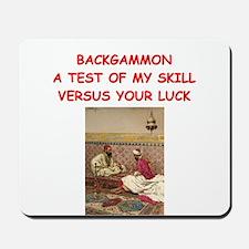 BACKGAMMON3 Mousepad