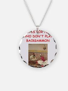 BACKGAMMON2 Necklace